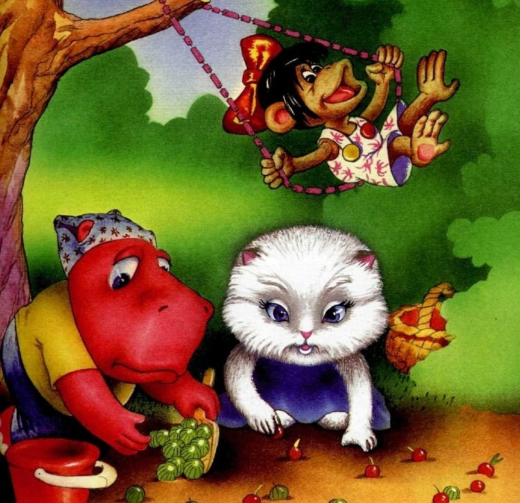 Мотя, Янка и Маркиза