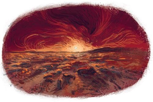 Марсианский лед и горы-великаны