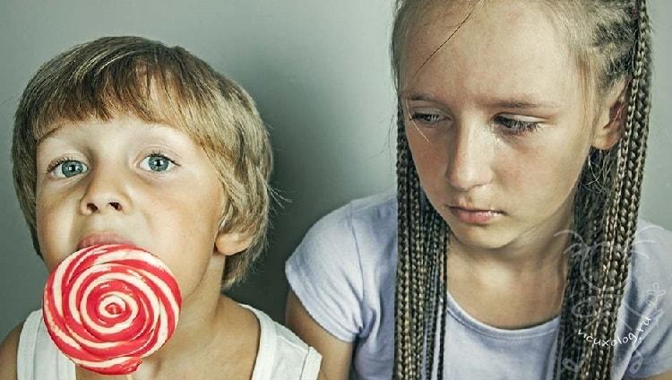 почему ребенок завидует