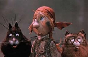 Кадр из мультфильма Федорино Горе