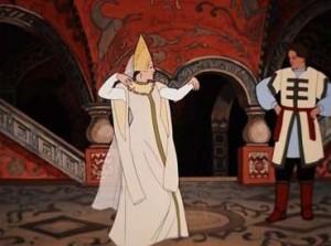 Кадр из мультфильма Царевна-лягушка