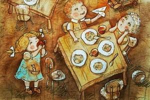 Как Оля полюбила детский садик