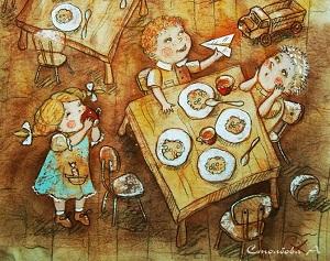 сказка про детский сад
