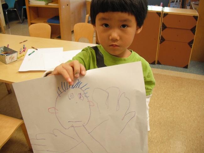 нарисуй человека