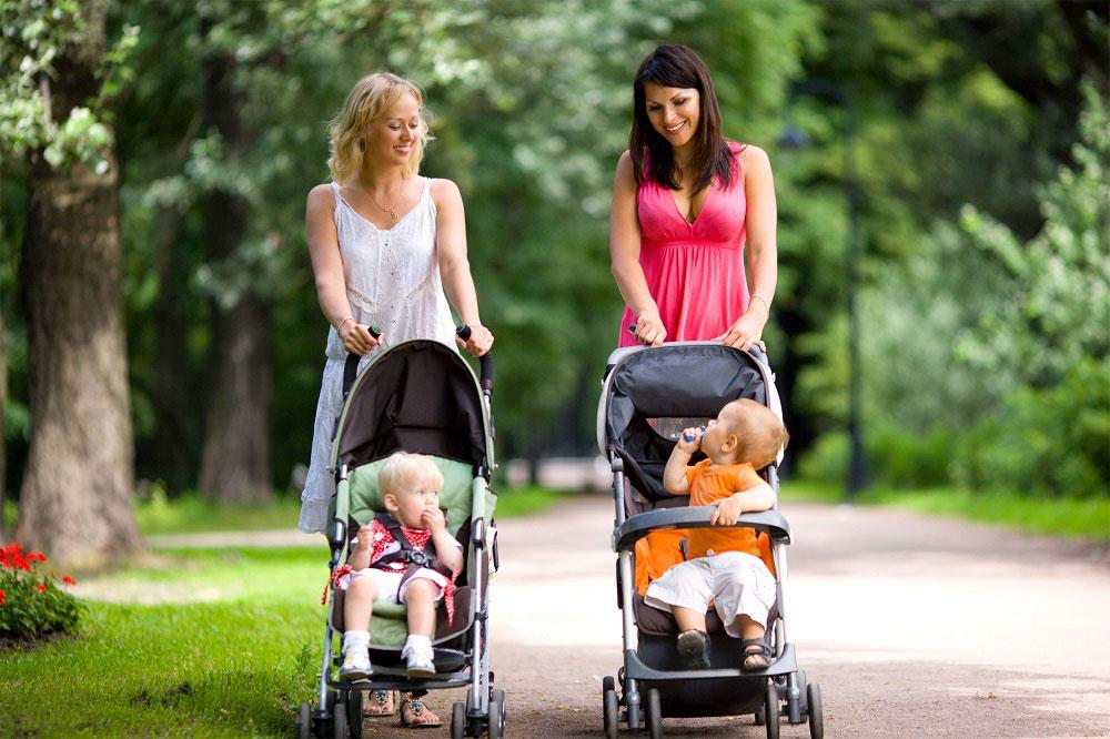 Мамы с колясками