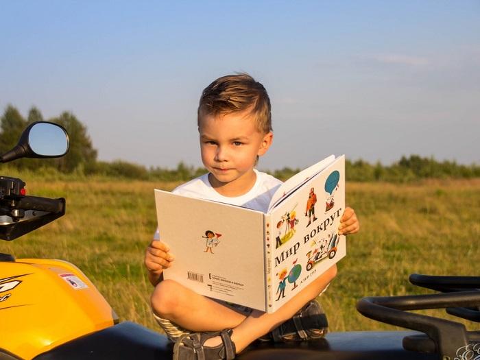 Развивающие книги для малышей от Алена Грэ