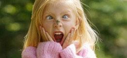 Дети и насекомые. Как помочь крохе