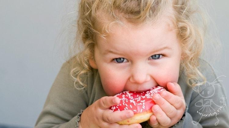 Как отучить от сладкого