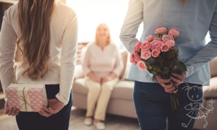 Что подарить на день матери